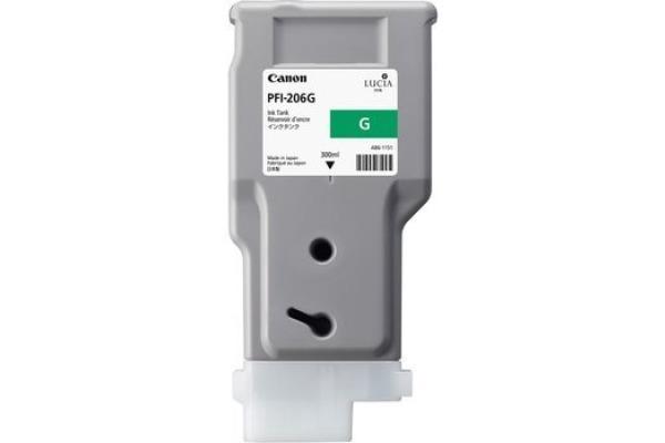 CANON Tintenpatrone green PFI206G iPF 6400/6450 300ml