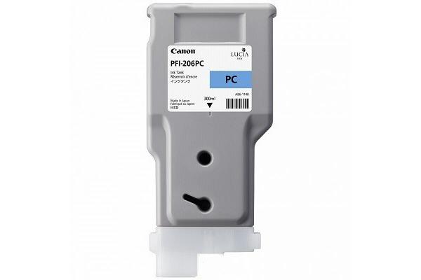 CANON Tintenpatrone photo cyan PFI206PC iPF 6400 6450 300ml