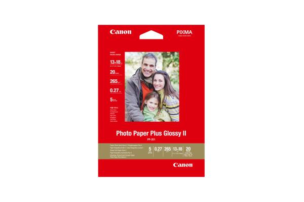 CANON Photo Paper Plus 265g 13x18cm PP2015x7 InkJet glossy II 20 Blatt