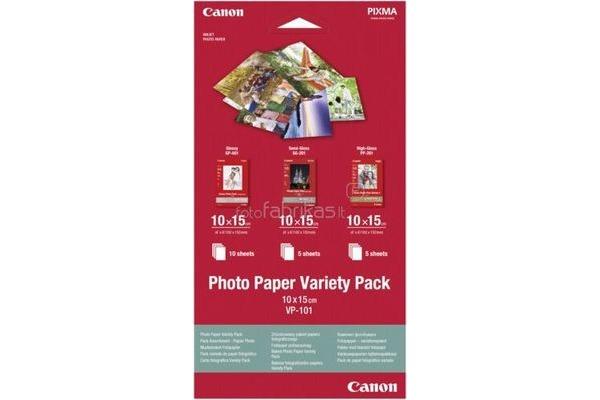 CANON Photo Pap.Variety Pack 10x15cm VP1014x6 InkJet 20 Blatt