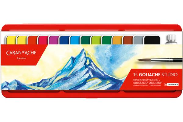 CARAN DACHE Gouache Studio Wasserfarben 1000.315 14...