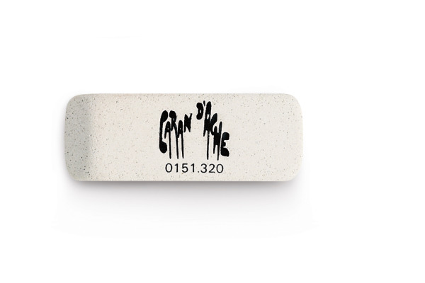 CARAN DACHE Radierer Tinte 151.32 grau 75x20x6mm