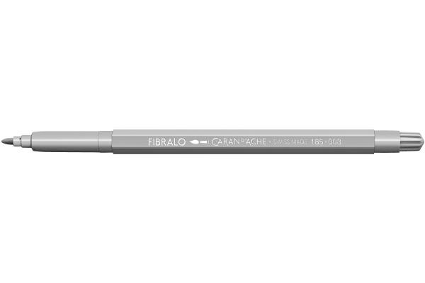 CARAN DACHE Fasermalstift Fibralo 185.003 hellgrau