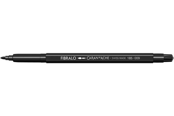 CARAN DACHE Fasermalstift Fibralo 185.009 schwarz