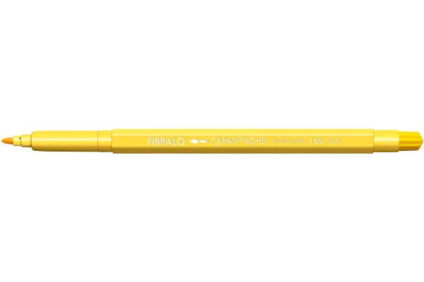 CARAN DACHE Fasermalstift Fibralo 185.010 gelb