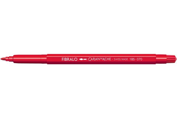 CARAN DACHE Fasermalstift Fibralo 185.070 scharlach
