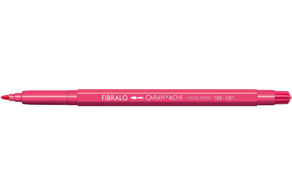 CARAN DACHE Fasermalstift Fibralo 185.081 rosa