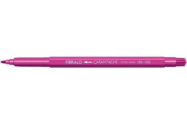 CARAN DACHE Fasermalstift Fibralo 185.090 purpur