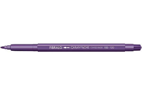 CARAN DACHE Fasermalstift Fibralo 185.120 violett