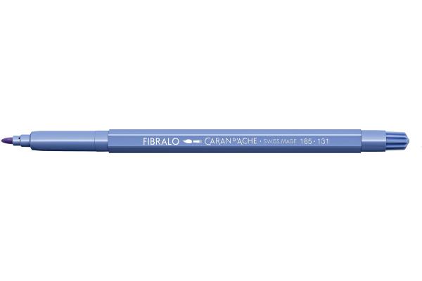 CARAN DACHE Fasermalstift Fibralo 185.131 hellviolett