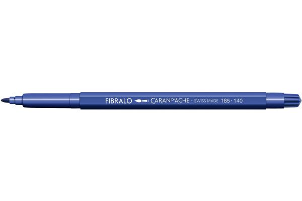 CARAN DACHE Fasermalstift Fibralo 185.140 ultramarin