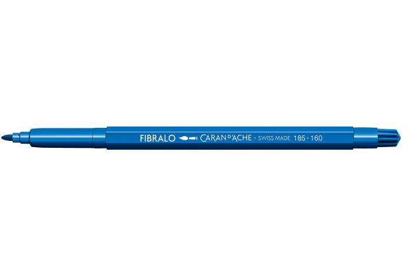 CARAN DACHE Fasermalstift Fibralo 185.160 blau