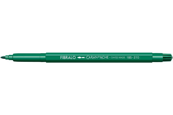 CARAN DACHE Fasermalstift Fibralo 185.210 smaragd