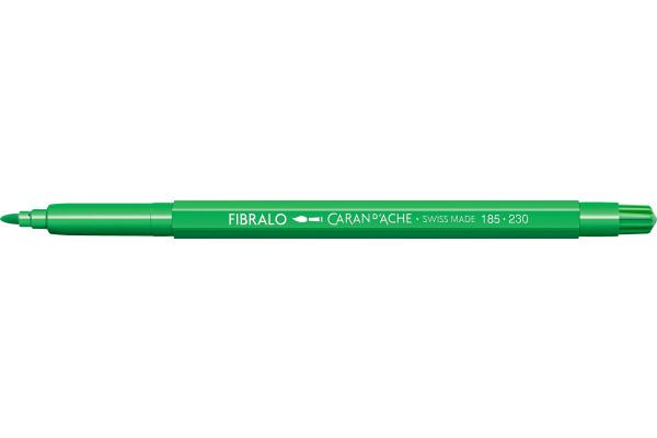 CARAN DACHE Fasermalstift Fibralo 185.230 gelb/grün