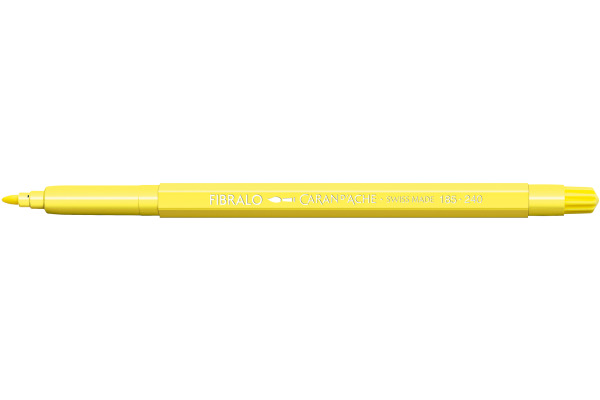 CARAN DACHE Fasermalstift Fibralo 185.240 zitronengelb