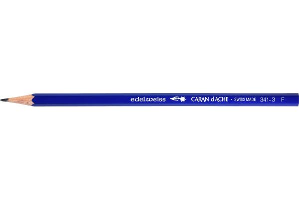 CARAN DACHE Schulbleistift Edelweiss F 341.273 blau