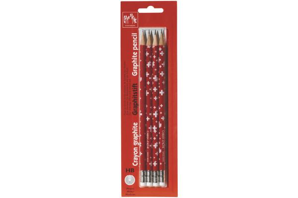 CARAN DACHE Bleistifte mit Radierer Nummer2 342.372 Swiss...