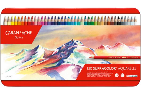 CARAN DACHE Farbstifte Supracolor 3,8mm 3888.420 ass. in...