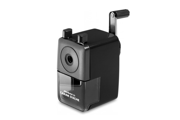 CARAN D´A Spitzmaschine 466 466.009 schwarz, 4-8mm
