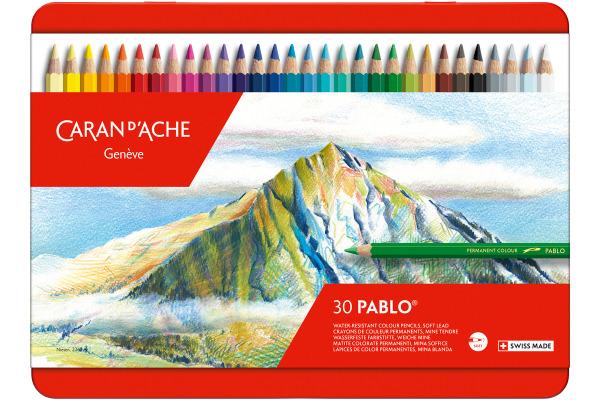 CARAN D´A Farbstifte Pablo 666.330 30 Farben