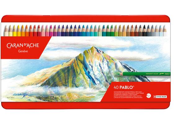 CARAN D´A Farbstifte Pablo 666.340 ass. 40 Stück