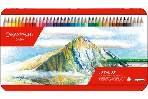 CARAN D´A Farbstifte Pablo 666.380 80 Stück ass. 80 Stück