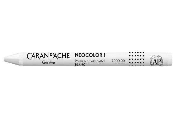 CARAN DACHE Wachsmalkreide Neocolor 1 7000.001 weiss