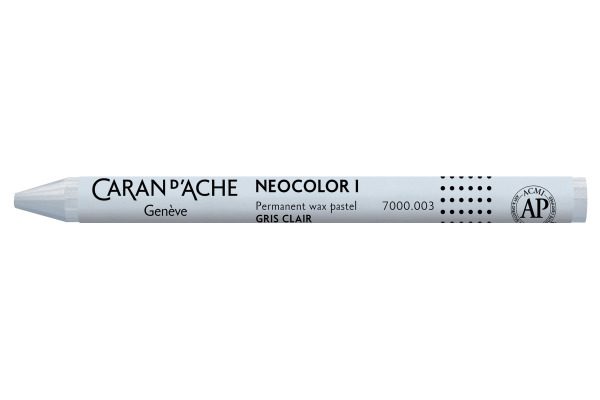 CARAN DACHE Wachsmalkreide Neocolor 1 7000.003 hellgrau