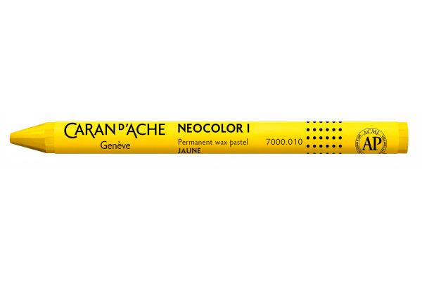 CARAN DACHE Wachsmalkreide Neocolor 1 7000.010 gelb