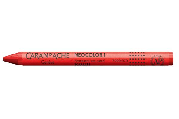 CARAN DACHE Wachsmalkreide Neocolor 1 7000.070 scharlach