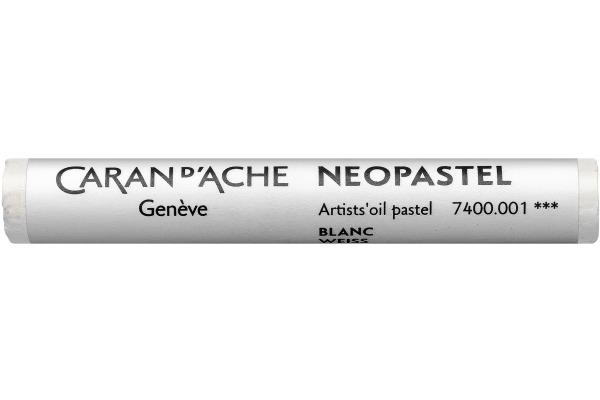 CARAN D´A Wachsmalstift Neopastel 7400.001 weiss