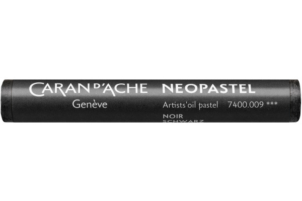 CARAN D´A Wachsmalstift Neopastel 7400.009 schwarz