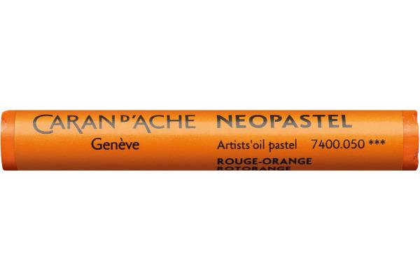 CARAN D´A Wachsmalstift Neopastel 7400.050 orange