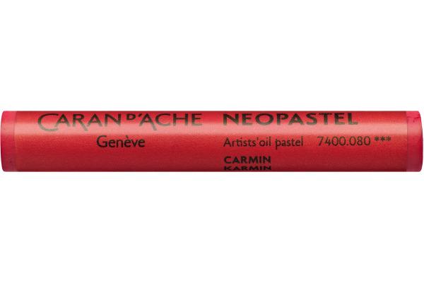 CARAN D´A Wachsmalstift Neopastel 7400.080 karmin