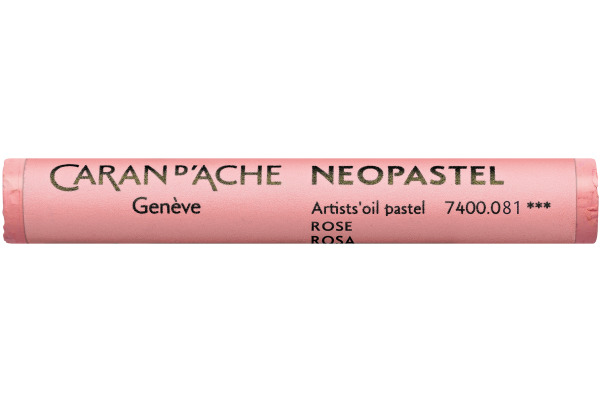 CARAN D´A Wachsmalstift Neopastel 7400.081 rosa