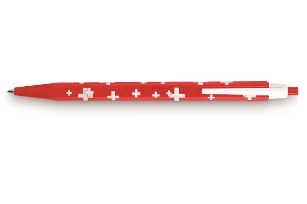 CARAN DACHE Kugelschreiber 825 Swiss 825.253 rot weiss