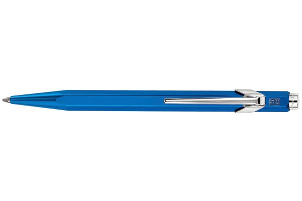 CARAN DACHE Kugelschreiber 849 Metal-X 849.140 blau