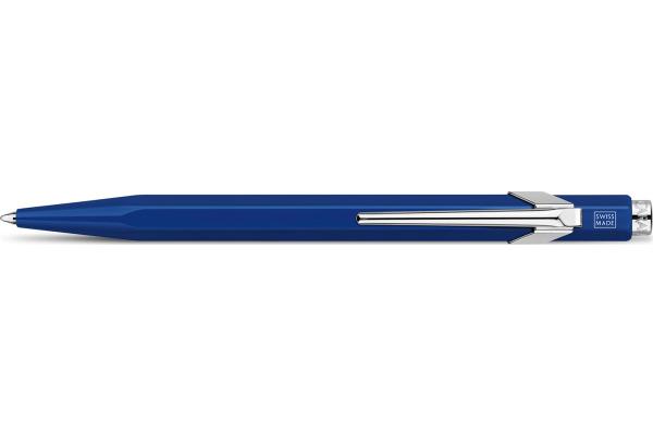 CARAN DACHE Kugelschreiber 849 Metall 849.160 blau,...