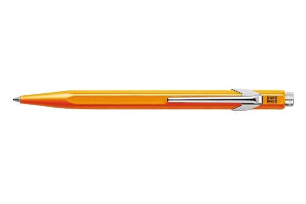 CARAN d´A Kugelschreiber 849 Pop Line 849.530 orange fluo, mit Metalletui