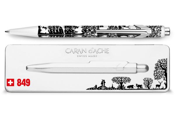 CARAN D´A Kugelschreiber 849 849.754 Scherenschnitt Etui
