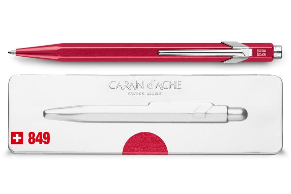 CARAN D´A Kugelschreiber 849 mit Etui 849.780 rot metallic