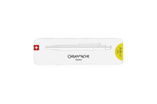 CARAN D'ACHE Kugelschreiber 849 Pop Line 849.970 gelb fluo, mit Metalletui