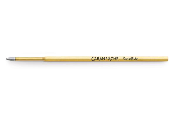 CARAN D´A Kugelschreiber Patrone 8528.000 M schwarz, SwissRide