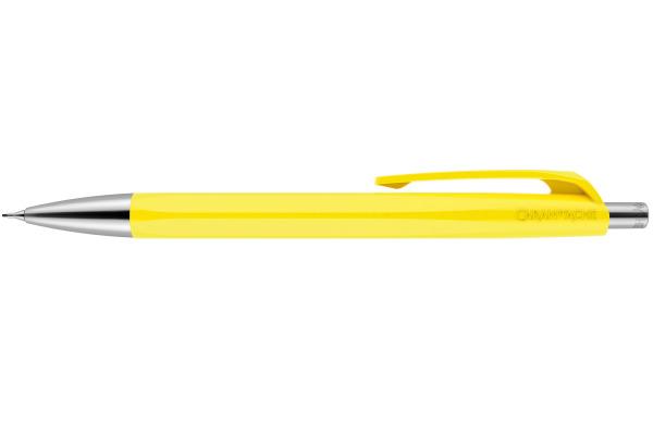 CARAN D´A Minenhalter Infinite 0,7mm 884.240 gelb sechseckig