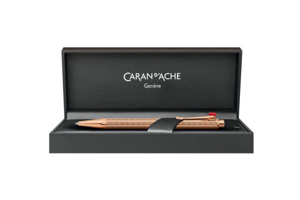 CARAN D'ACHE Kugelschreiber Ecridor Chevron 898.207 roségold