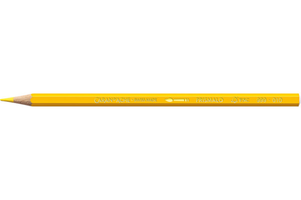 CARAN DACHE Farbstifte Prismalo 3mm 999.010 gelb