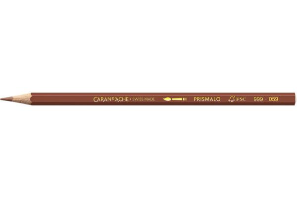 CARAN DACHE Farbstifte Prismalo 3mm 999.059 braun