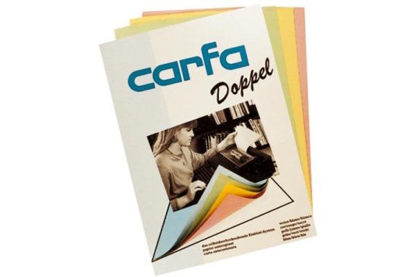 CARFA Einlageblatt 195537 weiss, 55g A4 100 Stück
