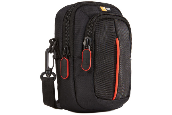 CASELOG Advanced Camera Case Point DCB313K & Shoot black/red