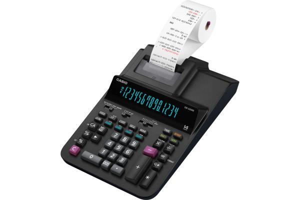 CASIO Tischrechner druckend DR320RE 14-stellig schwarz